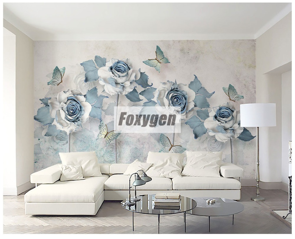 Customzied NON-WOVEN Wallpaper Mural With Kinds Of Nice 3D Flowers Animals Forest Abstract Landscapes Cities And Trees Designs