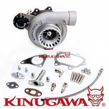 "Kinugawa Billet Turbocharger 4"" Anti Surge T67-25G 8cm Oil-Cooled for SUBARU WRX STI"