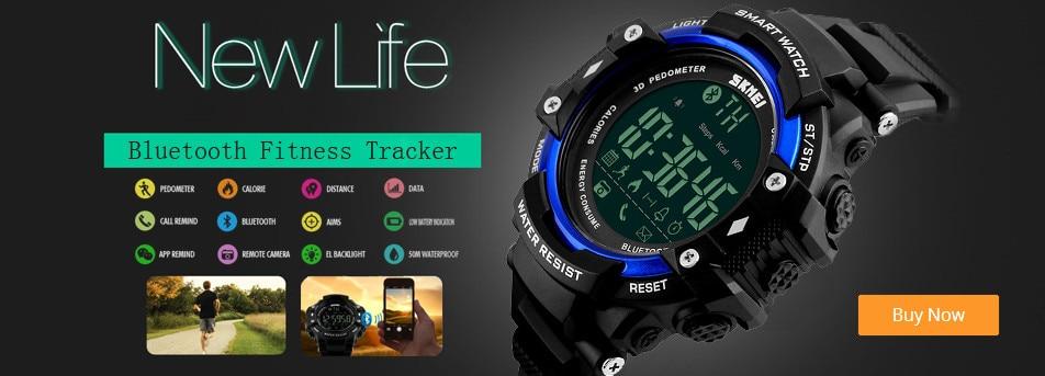 SKMEI Altimeter Barometer Thermometer Altitude Men Digital Watches Sports Clock Climbing Hiking Wristwatch Montre Homme 1418 5