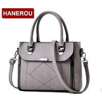Women Leather Handbags Women Shoulder Bag Women S Plaid Tote Bag Female Designer Handbags High Quality