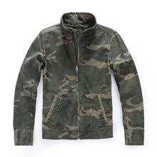 Camouflage Jacket Men Cargo Coat Mens Military Biker Hip Hop Casual 2019 Fashion Spring Fall Camo Jackets for J0213