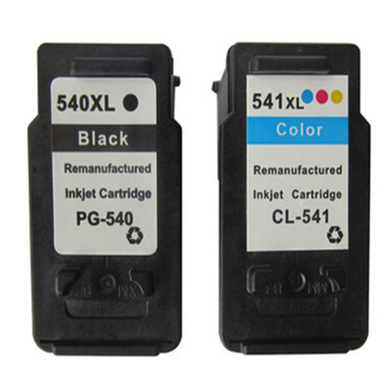 hisaint For Canon 540 541 PG540 CL541 Ink Cartridge For Canon Pixma MG4150 MG4250 MX375 MX435 MX515 Inkjet Printer Free Shipping 5bk 2cl large capacity ink cartridge compatible pg 540 cl 541 pg540 cl541 for canon mg2150 mg2250 mg3150 mg3200 mg3550 printer