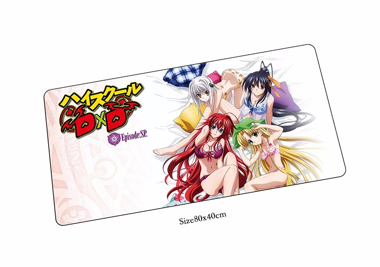 High School DxD BorN 80x40cm Mouse Pads