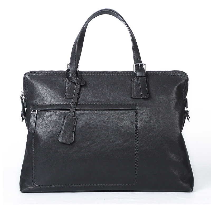 GSQ Genuine Leather Men Handbag Classic High Quality Leather Bag Business Men Bag 14inch Laptop Briefcase Messenger Bag G398 new high quality leather men laptop briefcase bag 14 inch computer bags handbag business bag fashion laptop handbag for men
