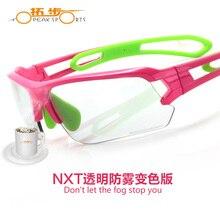 2017 Topeak Sports Cycling Glasses Photochromic Sunglasses Mtb Road Bike Nxt Lens Uv400 Proof Tr90 Gafas Ciclismo Transparent