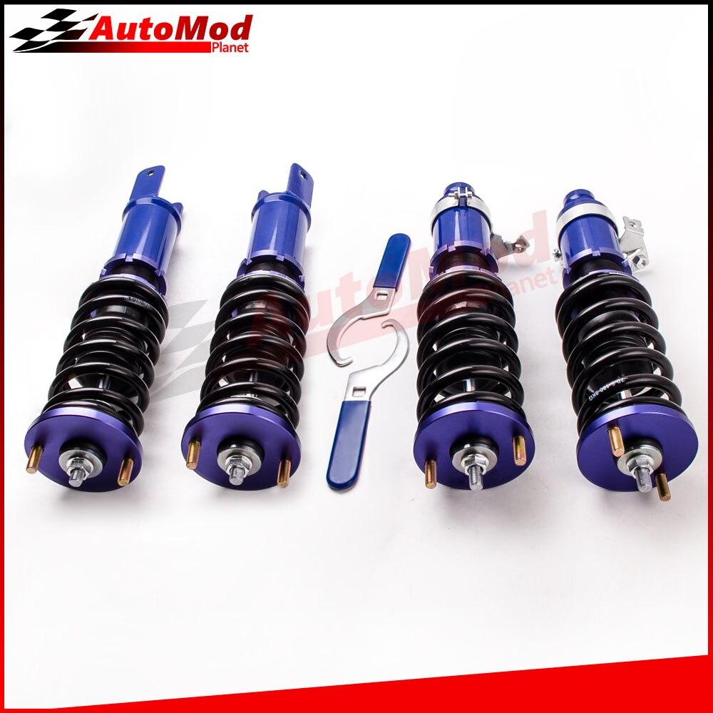 Adj. Высота койловеров амортизатора для Honda Civic ED EE EF CR-X Integra DA1 SH CRX койловеров суспензий шок весне