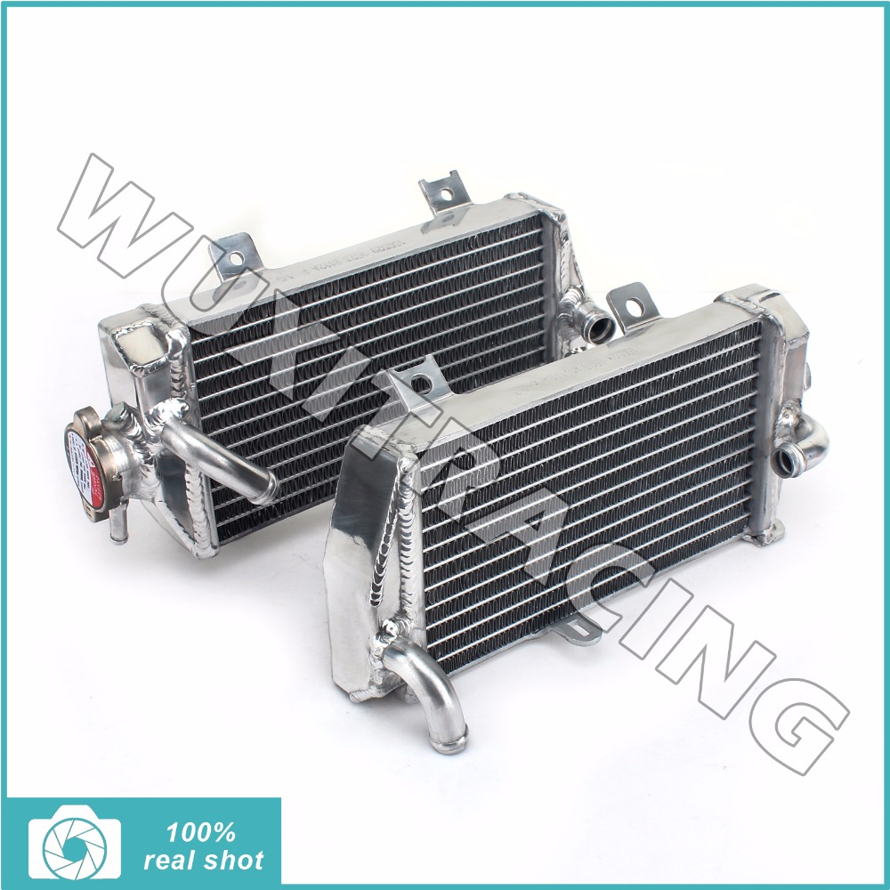 Wuxi Thai-Racing Trade Co., Ltd. Left Right New Aluminium Alloy Core MX Offroad Motorcycle Radiators Cooler Cooling for HONDA CRF250R CRF 250 R 14 15 2014 2015
