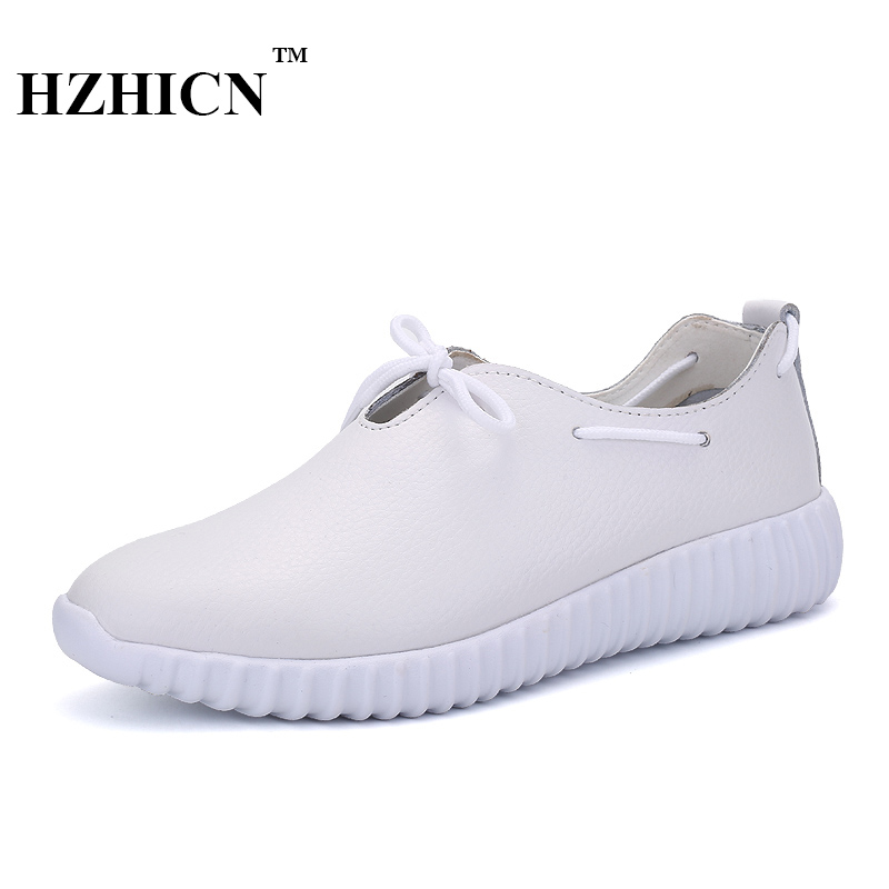 Supper Light Shoes for Women Casual New Genuine Leather Shoes Soft and Comfortable Oxfords Lace Up Flats Zapatos Mujer Moccasins 2017 new women shoes genuine leather casual shoes flats breathable lace up soft fashion brand shoes comfortable round toe white
