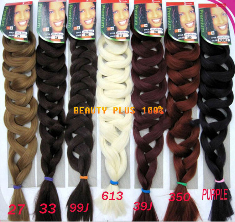 Hair For Braids 5pcs Expression Braids African Ultra Braid