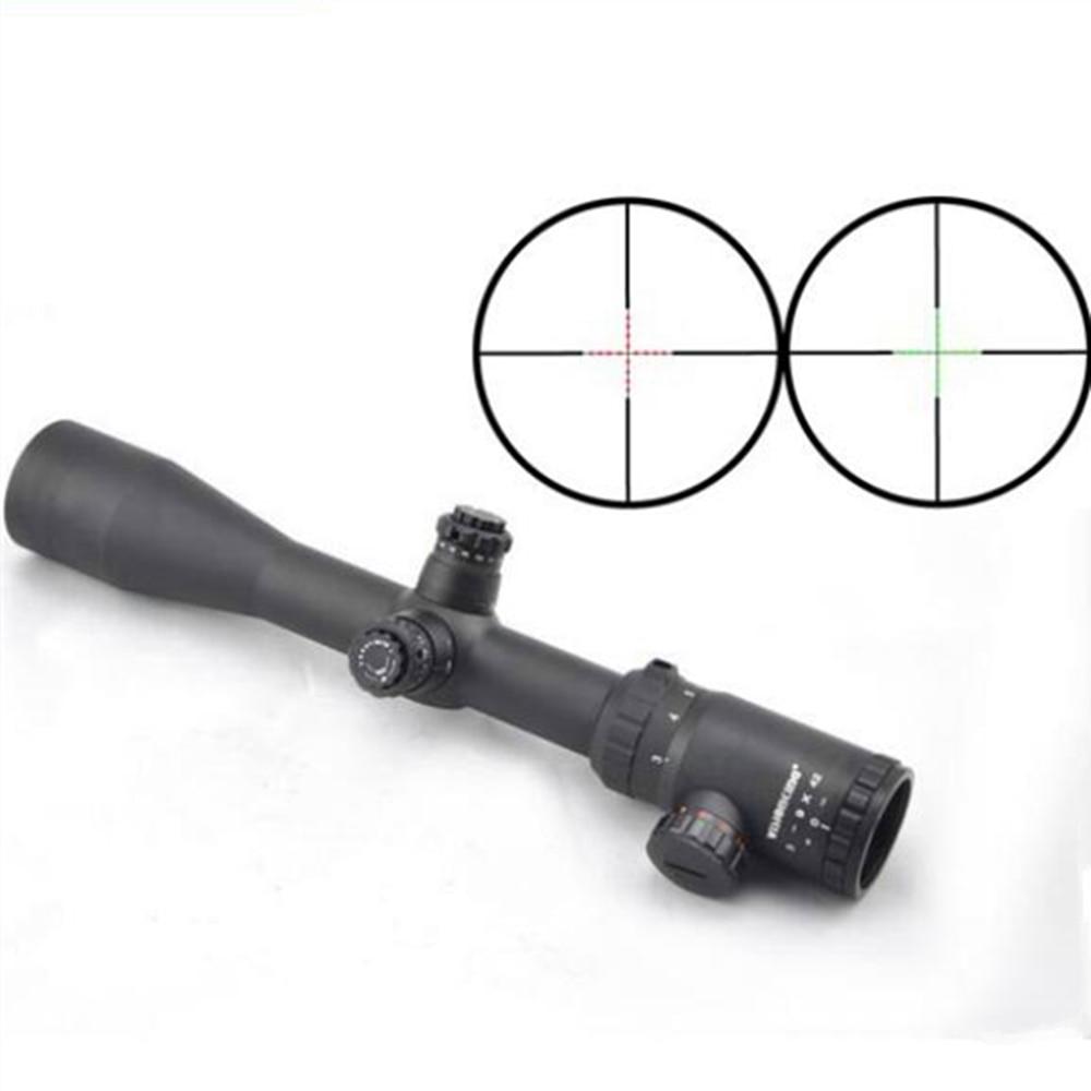 Visionking 3 9x42 Mil Dot Riflescope 30mm font b Hunting b font Rifle Scopes High Shockresistance