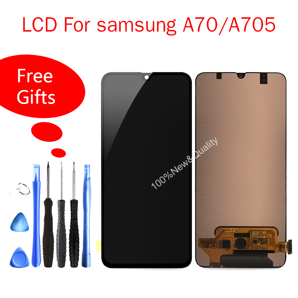 Quality Lcd For Samsung Galaxy A70 LCD A705 A705F SM-A705F Touch Screen Display Digitizer Assembly A70 2019 For Samsung A70 LCDQuality Lcd For Samsung Galaxy A70 LCD A705 A705F SM-A705F Touch Screen Display Digitizer Assembly A70 2019 For Samsung A70 LCD