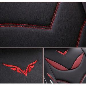 Image 3 - (Vorne + Hinten) spezielle Leder auto sitz abdeckungen Für Chevrolet Onix 2018 2013 durable komfortable sitzbezüge für Onix 2016
