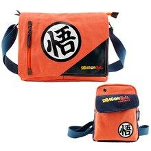 Schulranzen Umhängetasche Sling Pack Cosplay fAnime Dragon Ball Z Gou Leinwand Umhängetasche