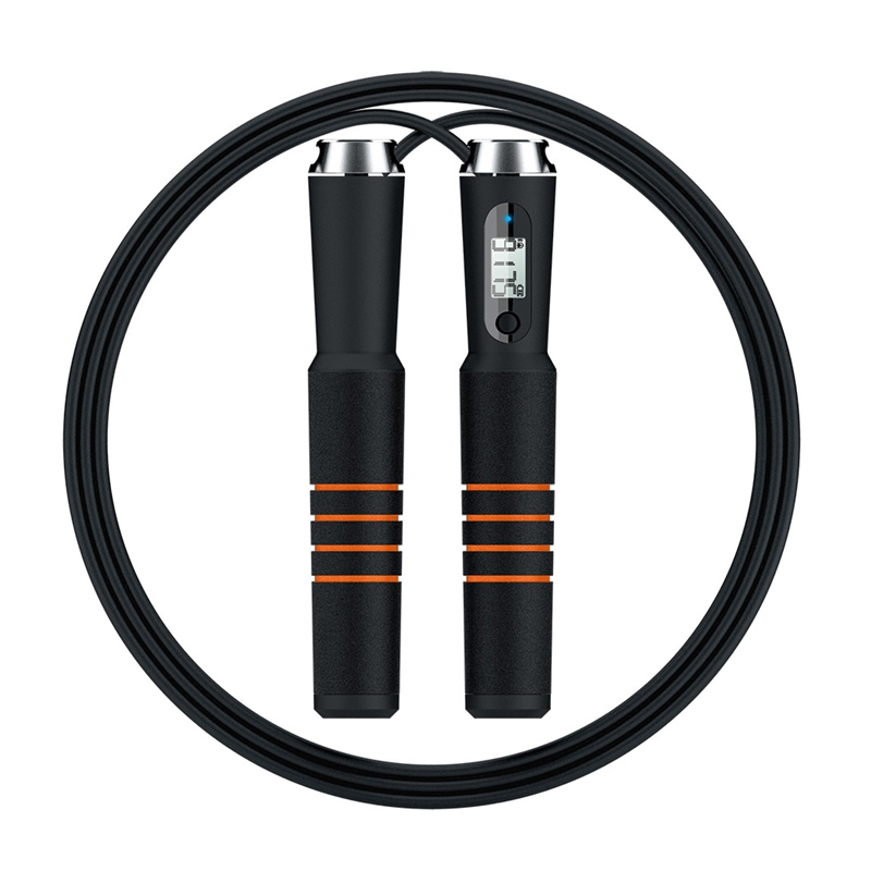 Smart Bluetooth Jump Rope Cross Fit Digital Calorie Speed Counter Jump Ropes For Exercise Alarm Reminder Weight Setting#294088