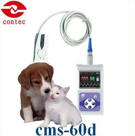 CMS60D Electronic VET  ANIMIAL Pulse Oximeter With Software oximetro