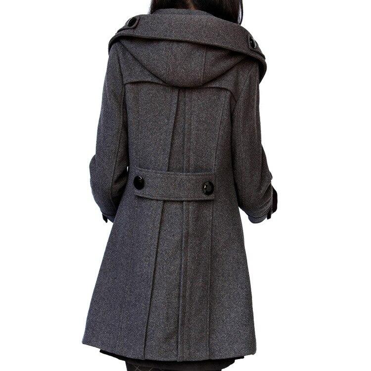 capucha abrigo delgada con