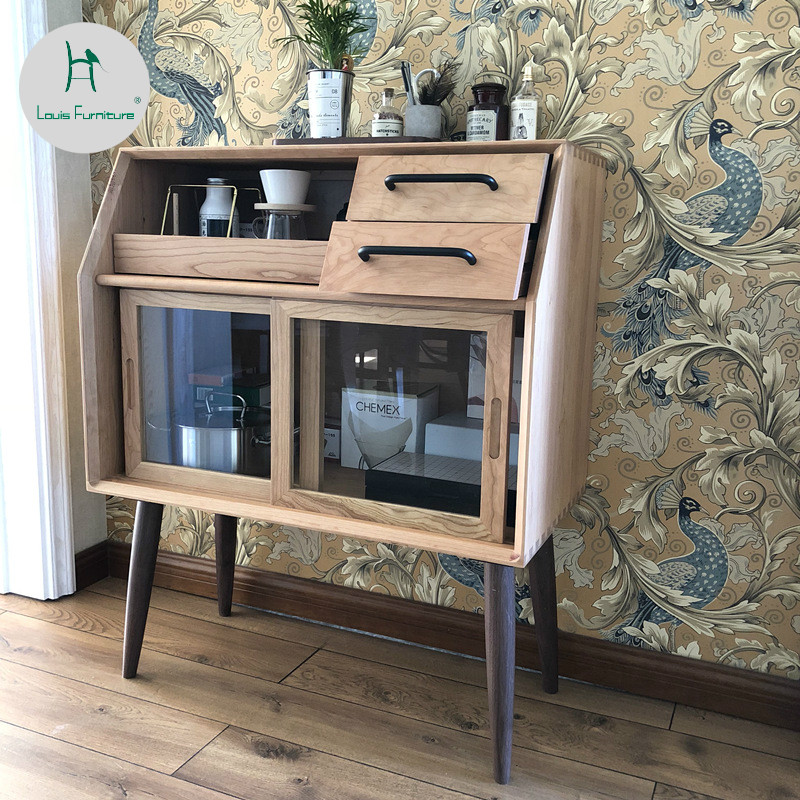 Storage Cabinets For Living Room: Louis Fashion Living Room Cabinets Simplicity Northern