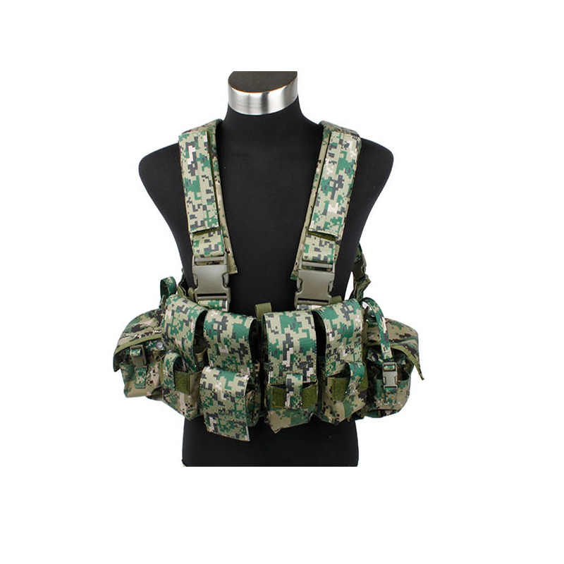 2019 NEW 1013 961A Chest RigCS AOR2 Nylon Airsoft chest rig Camouflage AOR2 Tactical chest rig