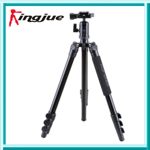 Light-weight Aluminum  heavy obligation photograph digicam Tripod With Ball Head and Case for DLSR  Upto 12kg BT-258B+QB-00T