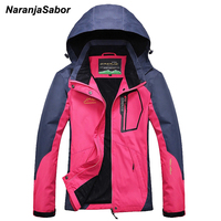 NaranjaSabor 2018 Spring Autumn Women's Jackets Windbreaker Breathable Women Coat Female Overcoat Waterproof Women's Clothing