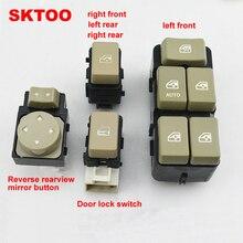 SKTOO For 2003-2008 Buick Regal glass regulator switch / door lock reverse mirror button window
