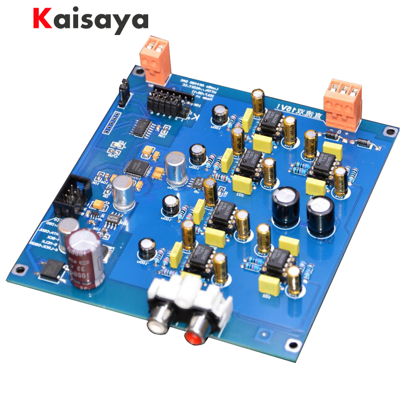 1pcs AK4490EQ DAC decoder Official standard circuit I2S DSD input Semi finished diy kit board B3