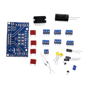 Image 2 - TDA7388 amplificador de audio de cuatro canales para coche amplificador de alta potencia, Kit de piezas PCB de 4x 41w