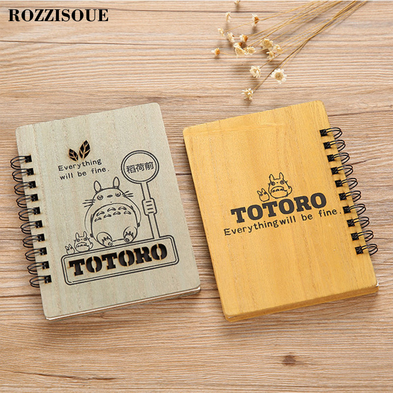 Diary Japanese Anime Notebook Cute Vintage Cat Kawaii Notebook Binder Planner Diary Libretas Y Cuadernos Creativos with Gel Pen in Notebooks from Office School Supplies