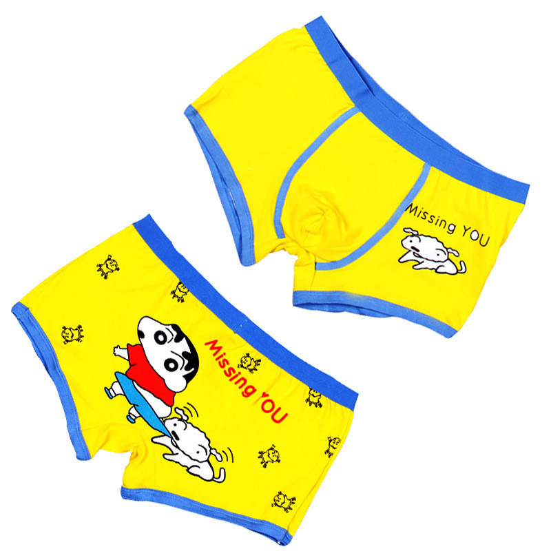 af55c0d3fd3 High quality 100% cotton cartoon men's Boxers For Men Panties Funny Boxer  Homme Sexy Gay Shorts Breathable Mens Underwear Trunks-in Boxers from Men's  ...