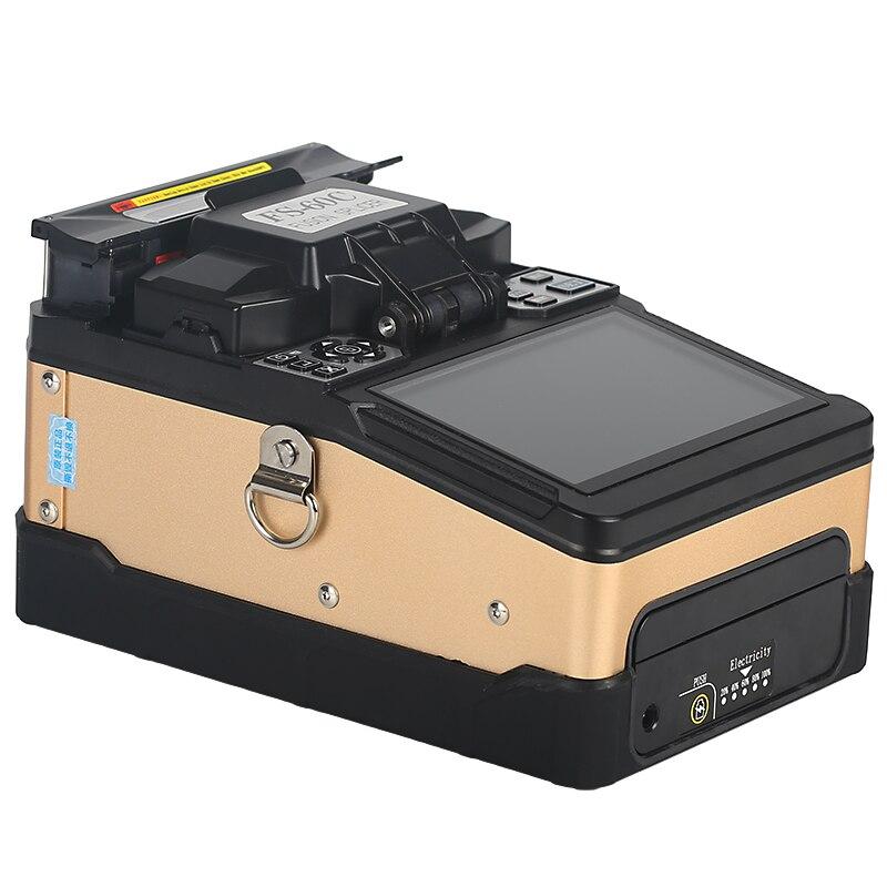 New pattern FTTH Fiber Optic Welding Splicing Machine Optical Fiber Fusion Splicer FS-60C