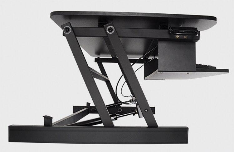 EasyUp Ordinateur de Bureau avec Poignée S'asseoir Stand Riser Bureau Pliable Bureau D'ordinateur Portable Stand Avec Clavier Plateau Portable/Moniteur Titulaire