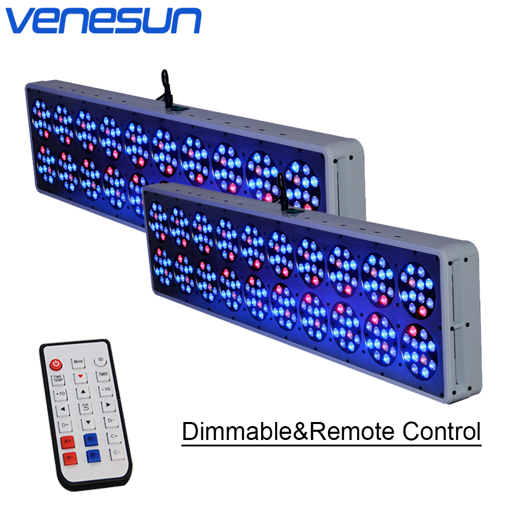 LED Grow Light Full Spectrum Apollo 20 Dimmable Remote Control Venesun Plant Grow Light For Indoor Plant Hydroponic Greenhouse