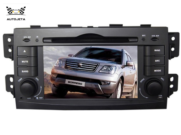 4UI intereface combined in ONE system CAR DVD PLAYER FOR KIA MOHAVE BORREGO 2008-2011 2012 2013 2014 2015 BLUETOOTH GPS navi SWC