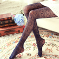 Sexy Charming Floral Pattern Fishnet Pantyhose Hosiery Tights Women GIRLS Hollow out lace  silk tights free shipping