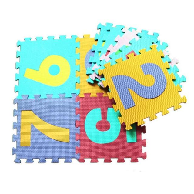 10Pcs Baby Child Cartoon Puzzle Foam Maths Educational Toy Gift Nov 11