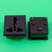 YuXi BX-801 AC Power Socket AC Adapter Industrial Socket CE FCC environmental certification universal socket in UPS 13A 250V