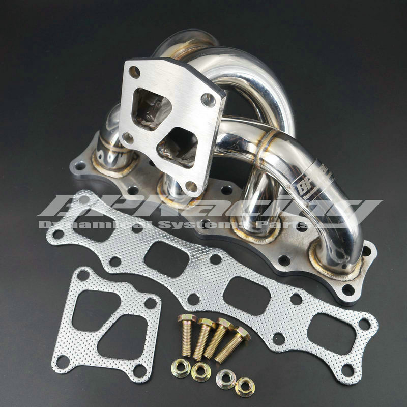BPRACING Tubular Manifold For Mitsubishi Lancer Evolution 10 X 4B11 Turbo 2008 UP
