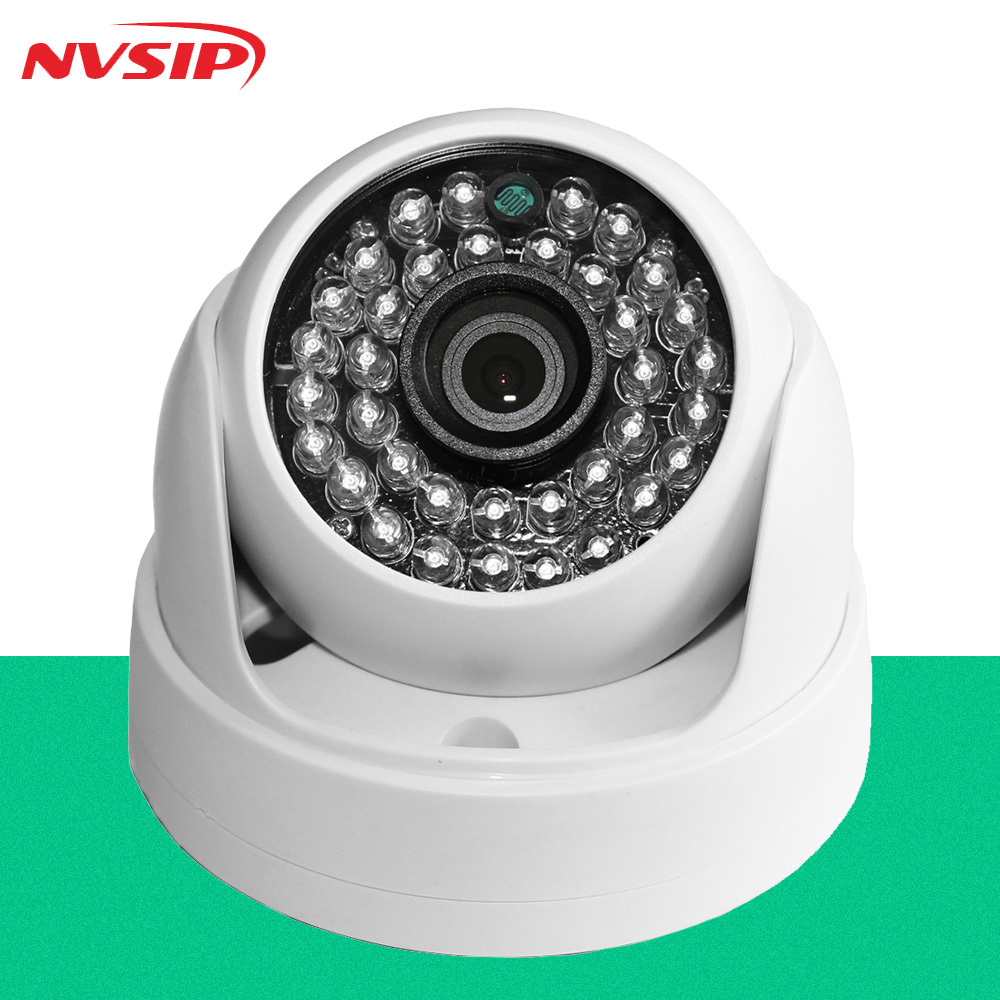NVSIP 720P/1080P SONY IMX323 Full HD 2MP Indoor Mini Plastic Dome AHD Camera CCTV Security Surveillance Camera with LED IR