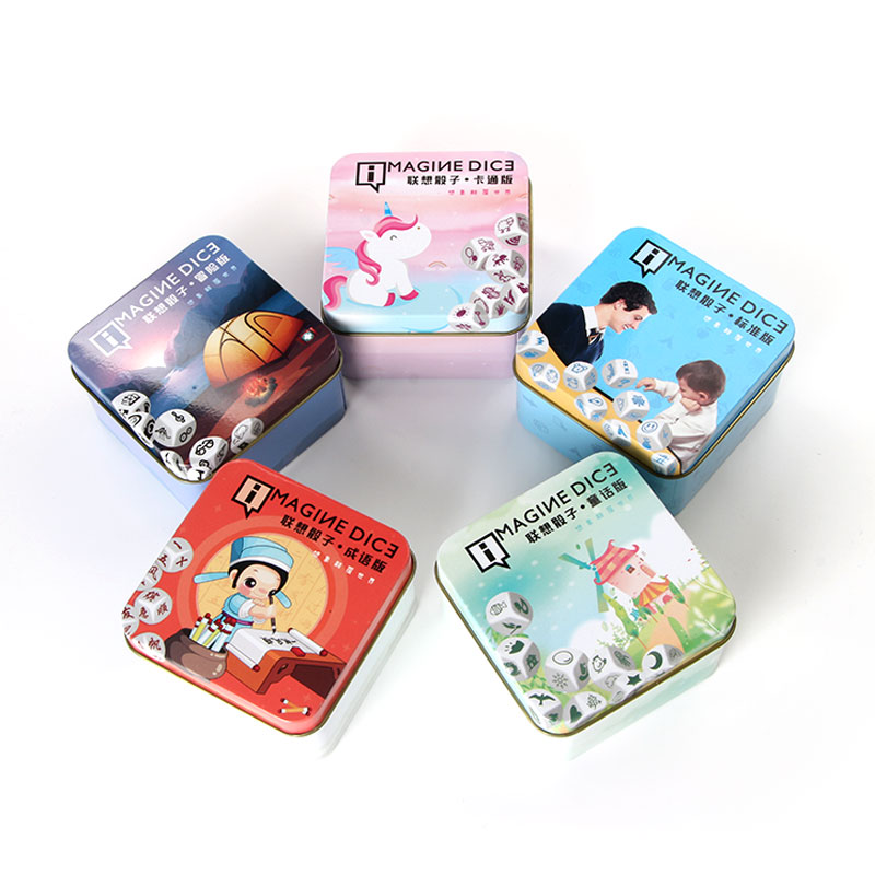 Story Imagine Dice Puzzle Language Learning Educational Board Game Express Story Game Funny Toy For Kids Party And Gift