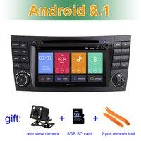 Ips экран Android 8,1 автомобильный DVD мультимедийный плеер для Mercedes/Benz W209 W463 W219 W211 с радио WiFi BT стерео gps