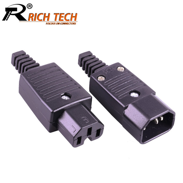 Incredible 10Pcs Lot Dc Ac Power Male Plug Female Jack Terminal 3Pin L N E Wiring Digital Resources Ntnesshebarightsorg