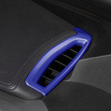 Car Styling 2PCS ABS Plastic Interior Upper Air Vent Outlet Cover Trim For Toyota C-HR CHR 2016 2017 2018 Left Hand Drive