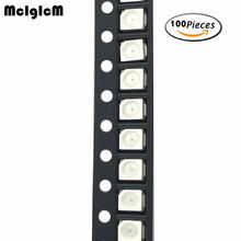 MCIGICM белый красный желтый зеленый синий 3528 1210 SMD светодиодный светильник