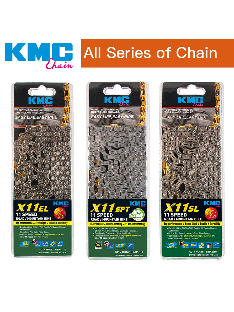 gold 10S chain 10 speed chain YBN SLA101 Tig hollow light weight design silver