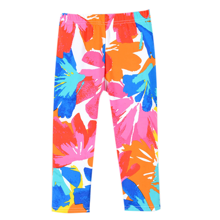 SheeCute-New-Arrival-Hot-Summer-Kids-Calf-Length-Fashion-girls-leggings-print-flowers-girls-pants-childrens-trousers-2