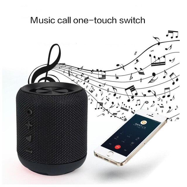 Orador portátil mini à prova dtwágua bluetooth alto falante de áudio portátil tws 2019 casa e ao ar livre nova edição