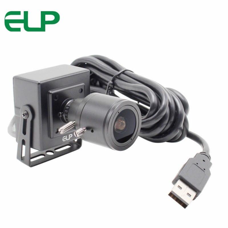 2Megapixel 1080P USB Camera MJPEG 30fps 1920 1080 Full HD Video Surveillance Mini Box CMOS Webcam