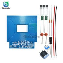 Metal Dedektörü Tarayıcı Demonte Kiti DC 3 V-5 V Paketi Metal Sensörü devre kartı modülü Elektronik DIY Kitleri