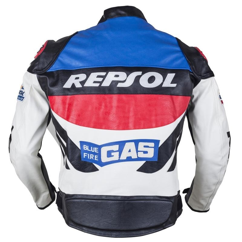 HOT SALE DUHAN motorcycle clothing moto racing suits REPSOL PU leather men motorbike Jacket clothes Spring coat air ship