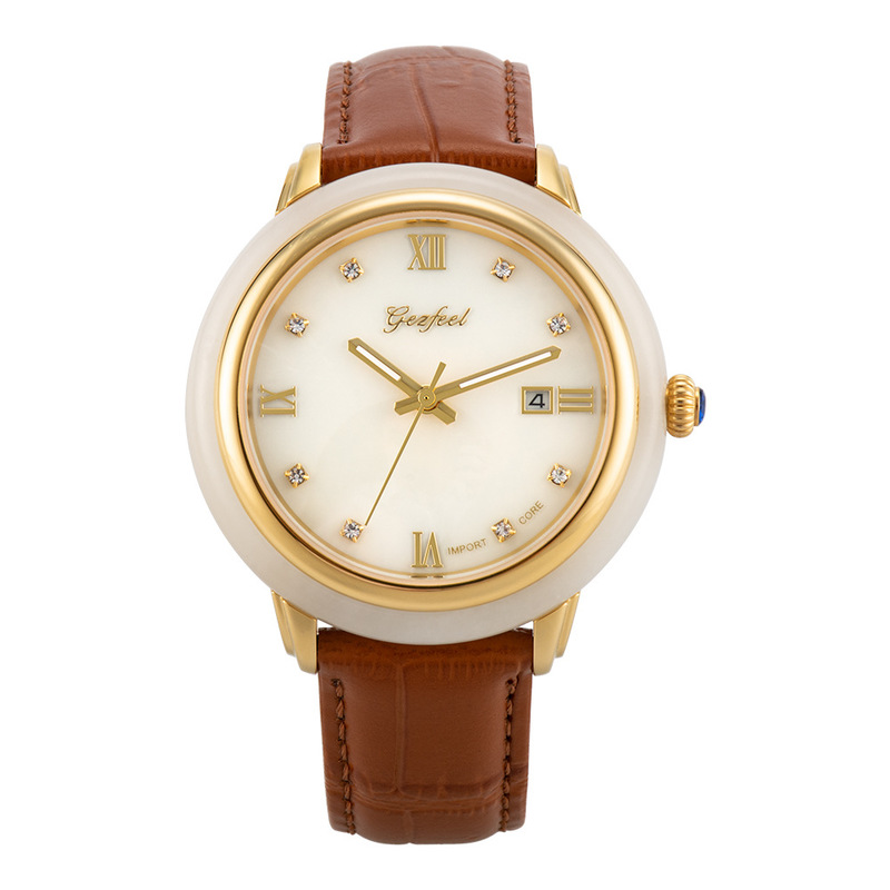 2020 And Tianyu Watches Insert Diamond Calendar Fashion Couple Machinery Jade Manufacturer Source One Delivery